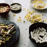 variety of dietary supplements